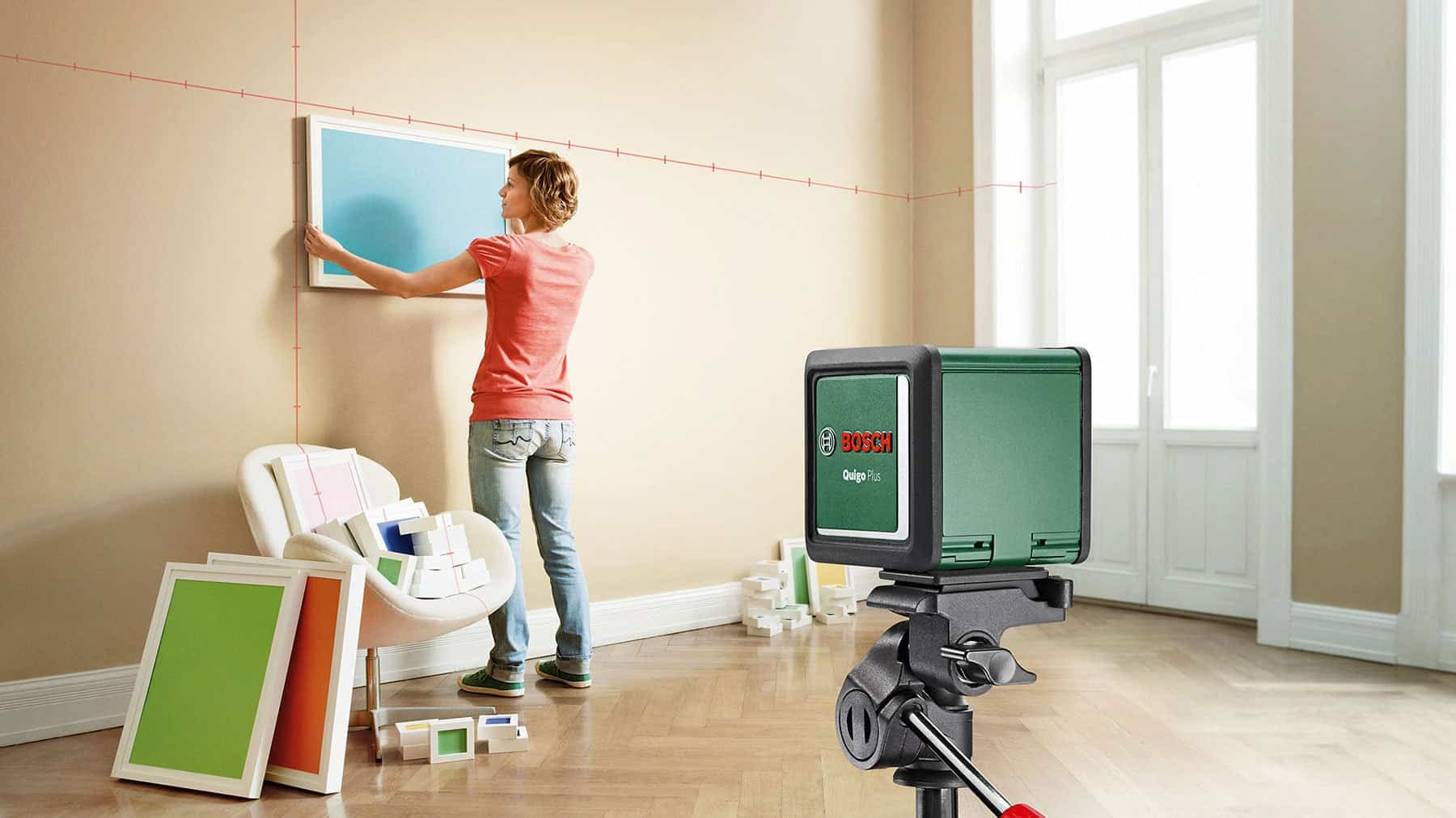 How to Use Laser Level For Hanging Pictures?