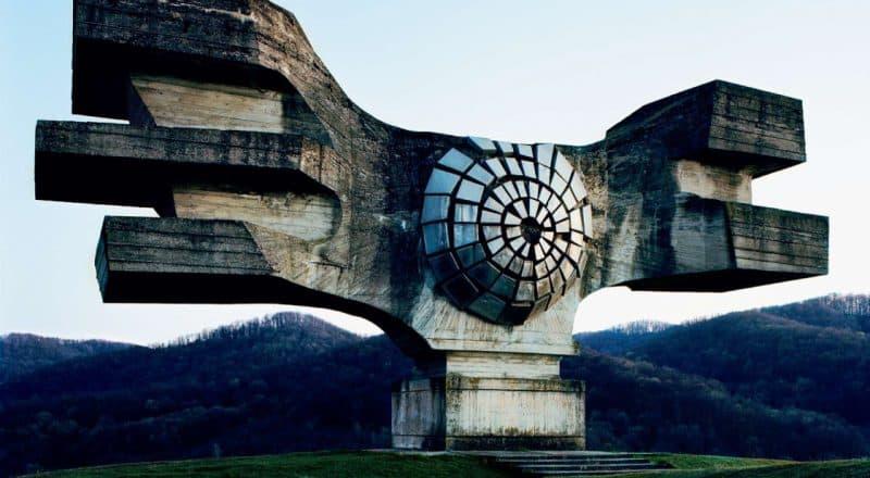 26 Abandoned Yugoslavia Monuments that looks Futuristic