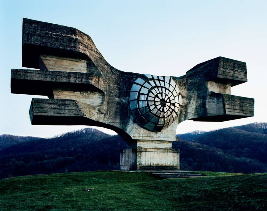 26 Abandoned Yugoslavia Monuments that looks Futuristic